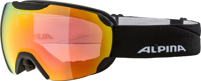 Alpina Pheos QVMM Goggles Black At Addnaturecouk - Alpina goggles